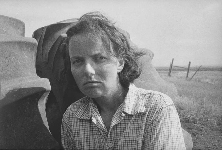 Helping with the Harvest, South Dakota, 1985, 1/15